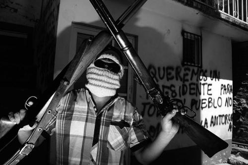 civiles armados-Río Hondo Oax- 3 marzo 2014