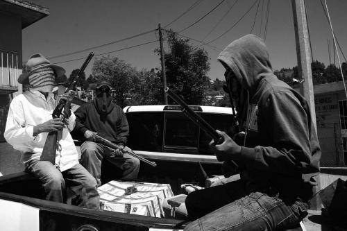 civiles armados-Río Hondo Oax - 3 marzo 2014