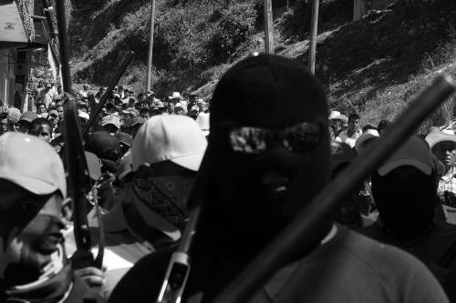 Santos Reyes Nopala - Autodefensas 11 febrero 2013