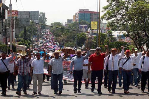 Maestros-movilizaciones en Oaxaca.11