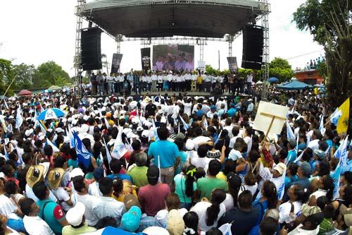 Cierra campaña Anaya Acatlán Oaxaca.