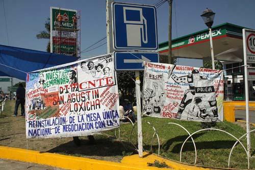 Maestros-movilizaciones en Oaxaca.10