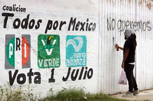 Magisterio-Tras paro-levantan plantón en Oaxaca.