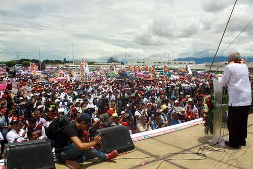 Cierra campaña AMLO-Oaxaca.2