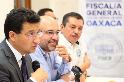 Fiscalía Oaxaca.