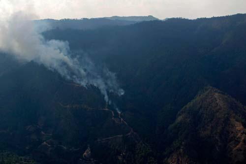 Incendios forestales Oaxaca.2