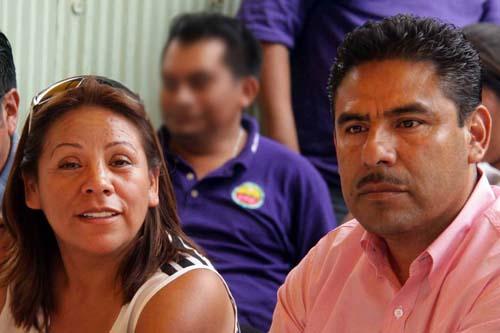 Mayra Luis Martínez y Gilberto Luis Martínez.