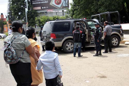 Operativos en Oaxaca