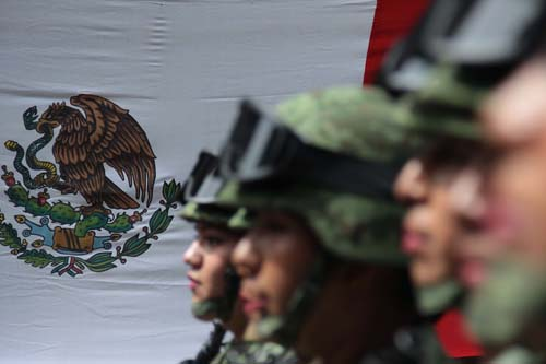 Desfile cívico-militar. Oax.9