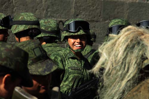 Desfile cívico-militar. Oax.3