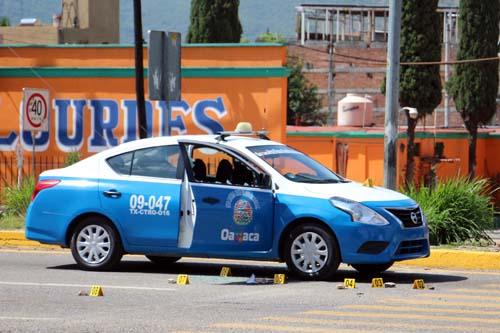 Ejecutan a taxistas-Oaxaca.1