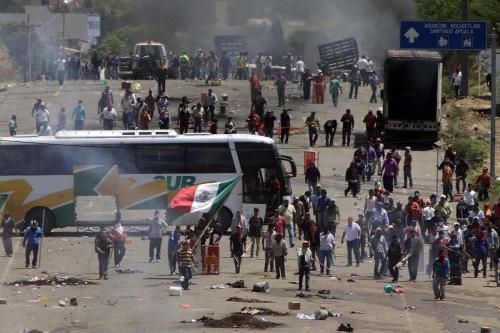 Enfrentamiento Nochixtlán-Oaxaca-Federales vs Pueblo-19 junio 2016